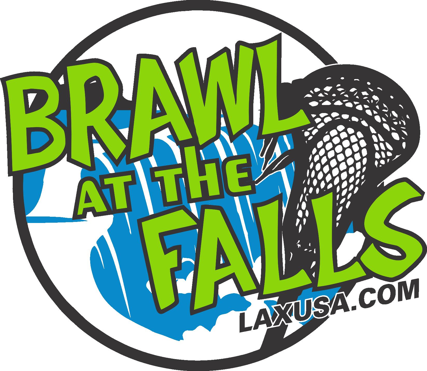 Brawl at the Falls Circle Logo